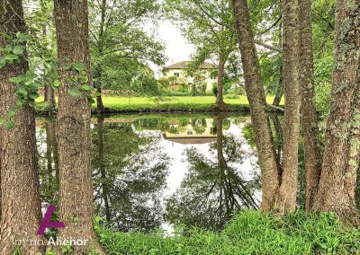 Maison avec étang à Bergerac 1