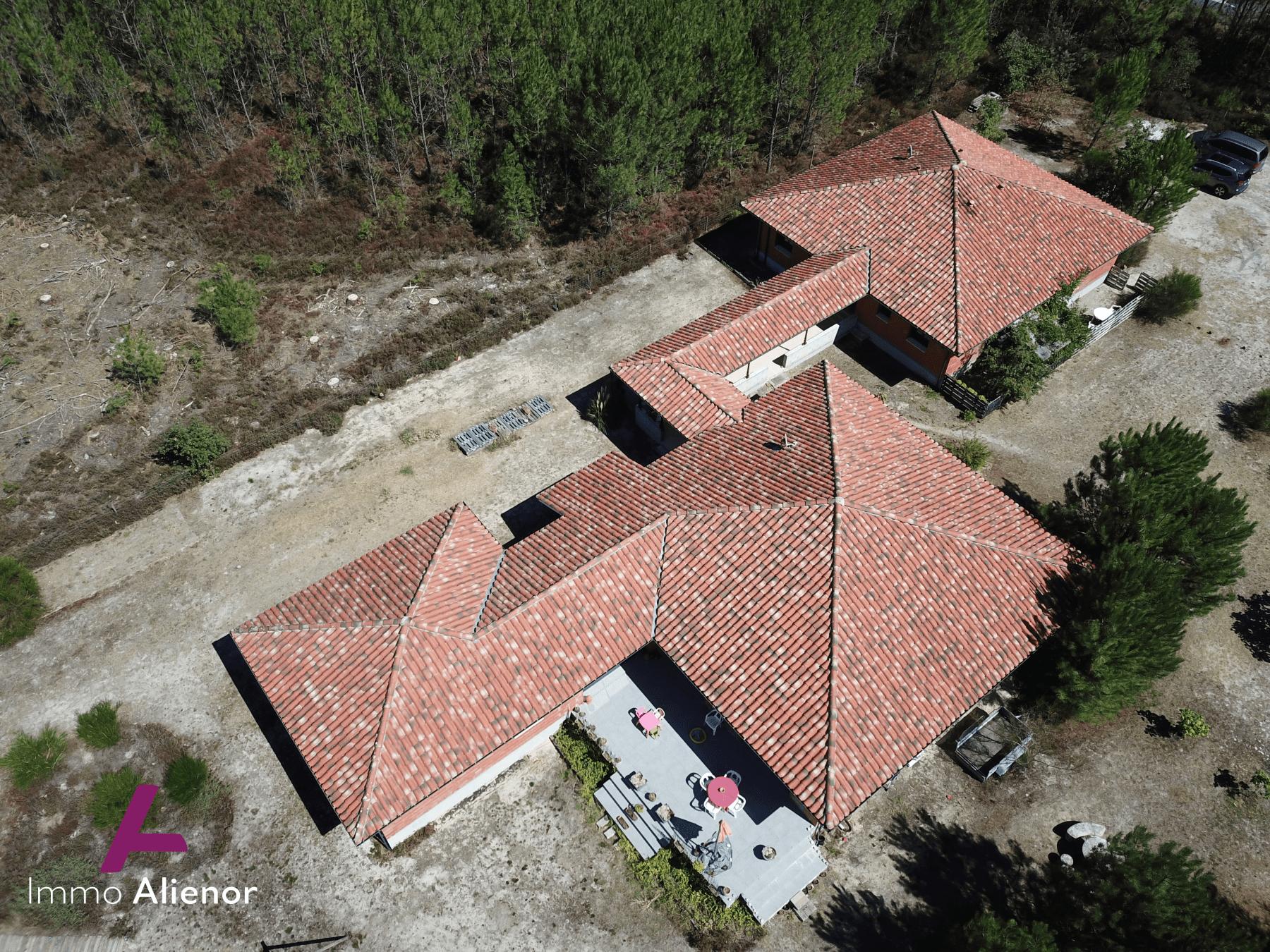 Ensemble immobilier comprenant une maison et 4 appartements à Lugos