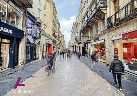 Fond de commerce de 130 m² à Bordeaux proche Victoire