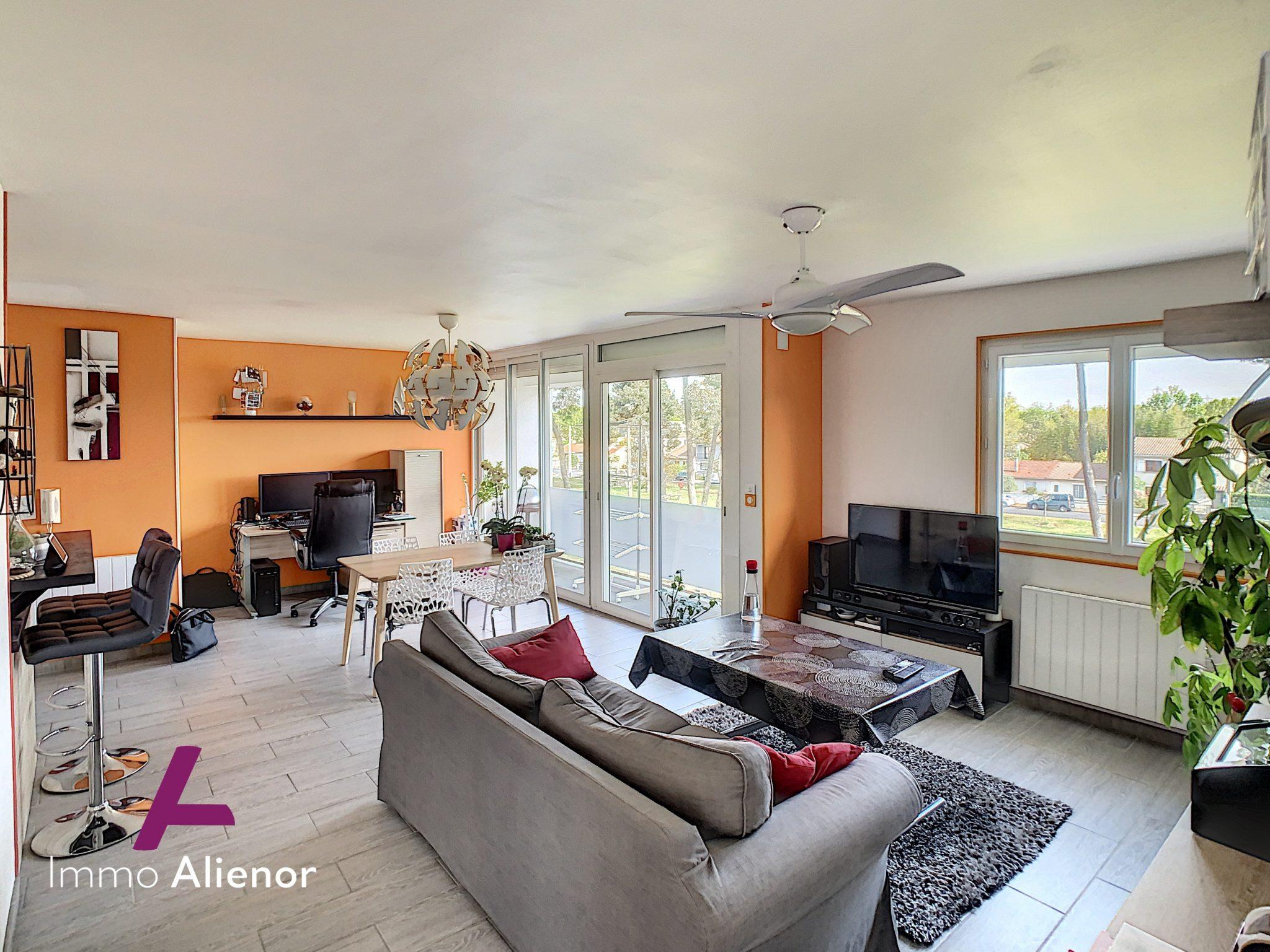 Appartement 3 pièces de 63 m² à Pessac