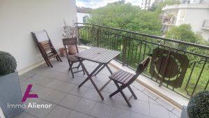 T2 de 56m2 – 2 terrasses sur parc en plein coeur de Caudéran