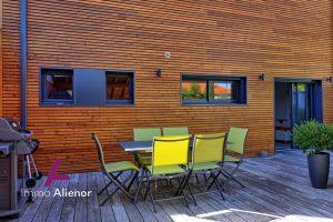 Belle maison ossature bois 130m2 Caudéran avec grande terras