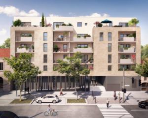 Cenon – Appartement T2 de 48 m2 avec balcon
