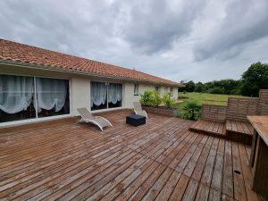 Belle et grande maison contemporaine à Saugnac et Muret